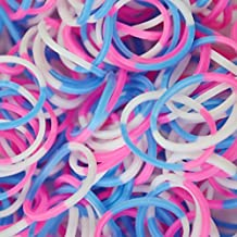 Rainbow Loom Sweets Cotton Candy Rubber Bands with 24 C-Clips (600 Count)
