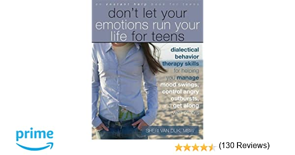 Amazon.com: Don't Let Your Emotions Run Your Life for Teens ...