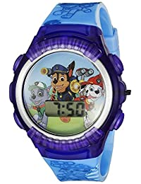 Nickelodeon PAW4039 Paw Patrol - Reloj digital de cuarzo para niños, color azul