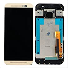 Gold LCD Display Touch Screen Digitizer Assembly + Frame for HTC One M9