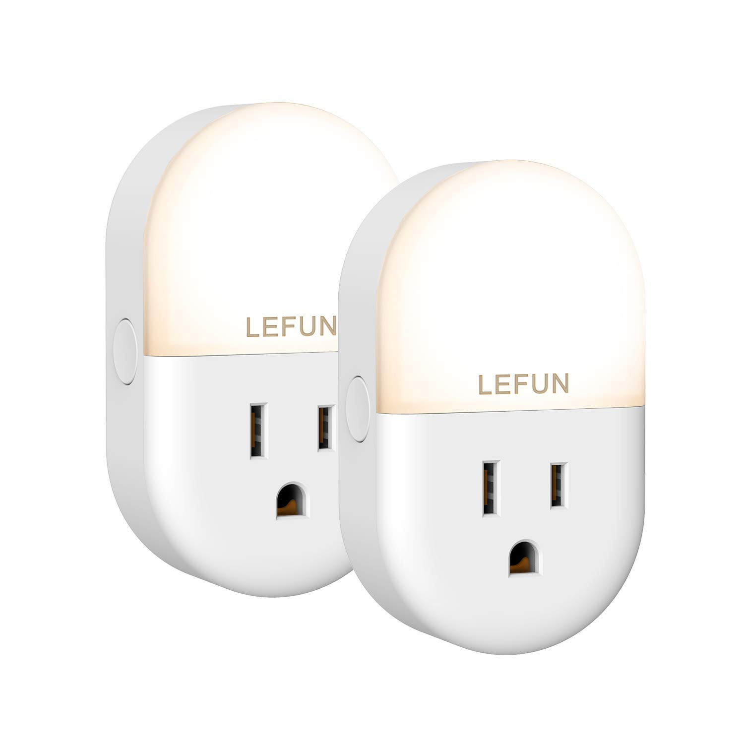 Lefun Smart Plug WiFi Outlets Night Light with Timer Remote Individual Control, Work with Alexa/Google Home/Ifttt