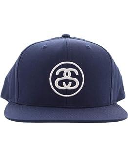cd9c1ef3ba9 Stussy SS-Link SP17 Cap Navy White Embroidery Logo Snapback Men s Hat