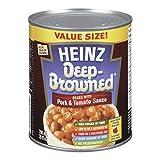 Heinz Deep Browned Beans with Tomato Sauce & Pork, 796mL