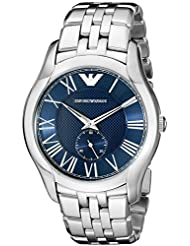 Emporio Armani Mens AR1789 Dress Silver Watch