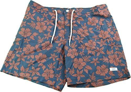 36 Mens Beach Street Quick Dry Swim Trunks Navy Floral Trunks Surf /& Swim Co
