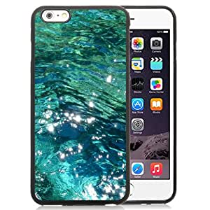 Fashionable Custom Designed iPhone 6 Plus 5.5 Inch Phone Case With Ocean Water_Black Phone Case