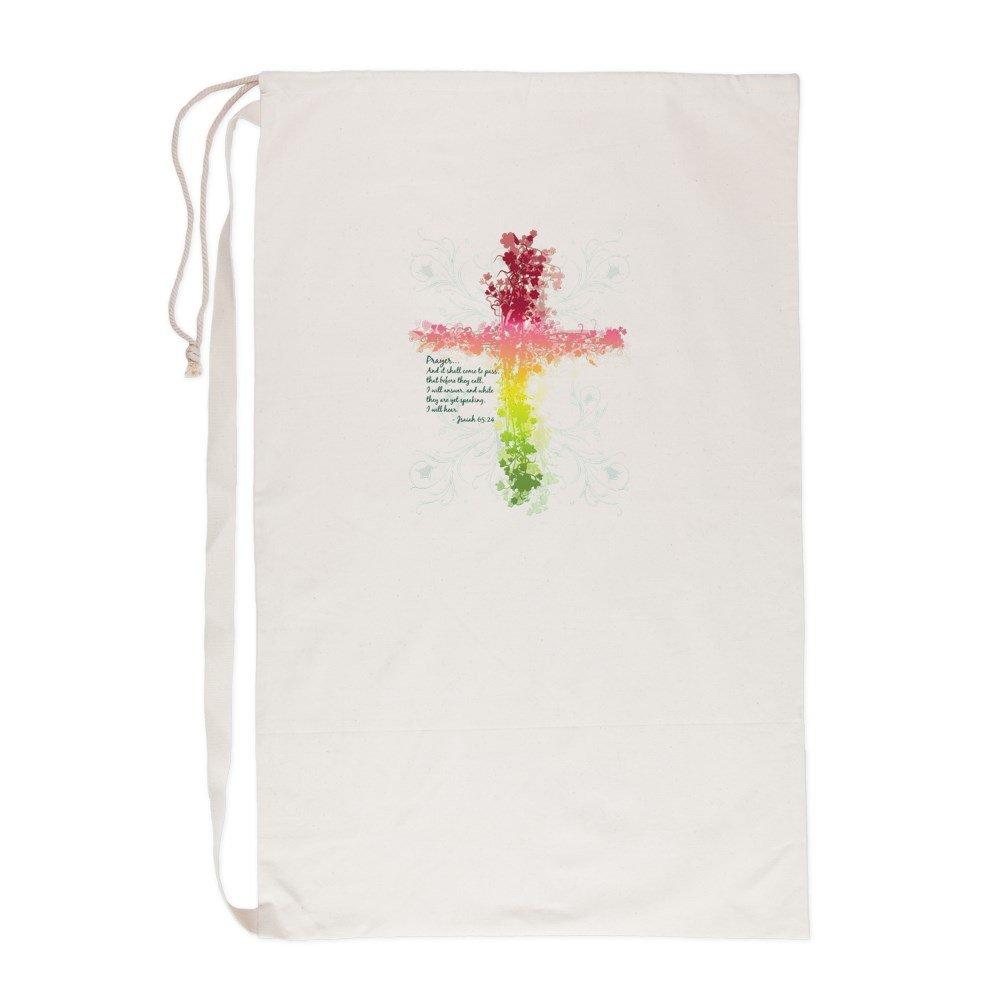 Laundry Bag Christian Faith Bible Prayer Cross