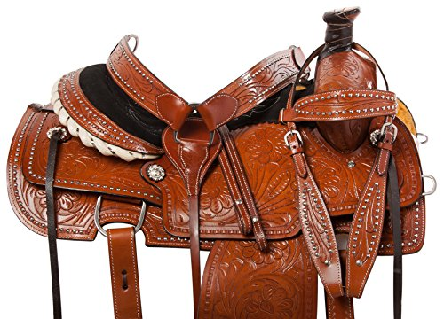 Tooled Roper Breast Collar - AceRugs 15