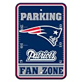 NFL New England Patriots Plastic Parking Signs
