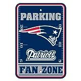 Fremont Die NFL New England Patriots Plastic Parking Sign