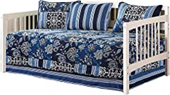 Mk Collection 5pc Day Bed Quilted Cover ...