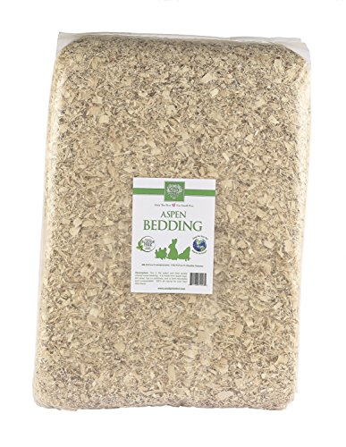 Aspen Wood Shavings - Small Pet Select JUMBO Aspen Bedding, 113L