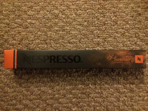 10 Nespresso Santander Limited Edition Coffee Capsules
