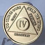 4 Year Bronze AA %28Alcoholics Anonymous