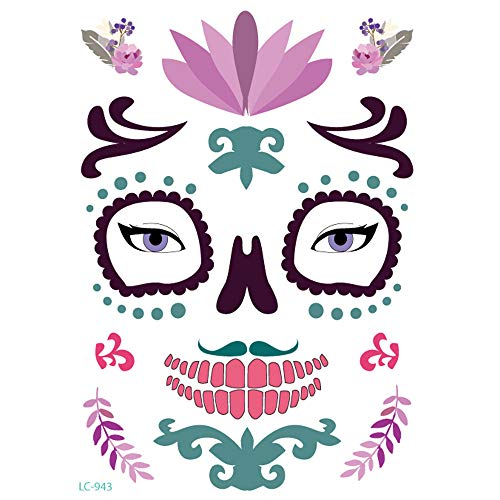 aliveGOT Day of The Dead Sugar Skull Tattoos