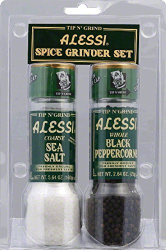 Alessi Salt and Pepper Grinder - 2 per pack - 6 packs per case.