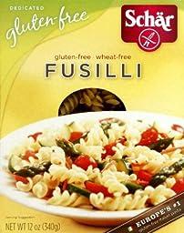 Schar Naturally Gluten, Free Fusilli, 12 oz