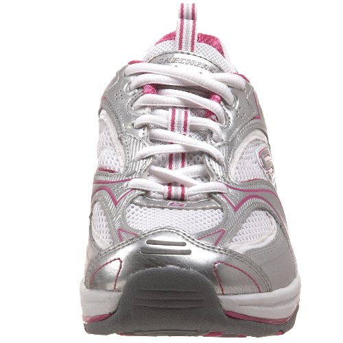 Skechers Baskets mode femme Argent Shape ups BKSL 1 12320 XF Accelerators 00wqzrY