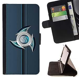 For Samsung Galaxy Note 5 5th N9200 Case , abstracto- la tarjeta de Crédito Slots PU Funda de cuero Monedero caso cubierta de piel