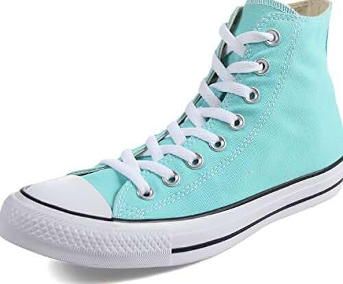 Converse Unisex Chuck Taylor All Star Seasonal High Top Shoe Light Aqua Men's Size 5.5/Women's Size 7.5