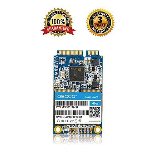 60GB - mSATA III (6Gb/s, mSATA SSD, mSATA III, MLC) mSATA Solid State Drive for Notebooks Tablets and Ultrabooks (60GB) by OSCOO (Image #4)