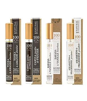 100BON Set de 4 Perfumes y Colonias Naturales