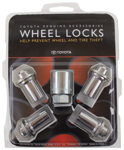 Genuine Toyota Accessories 00276-00901 Wheel Lock
