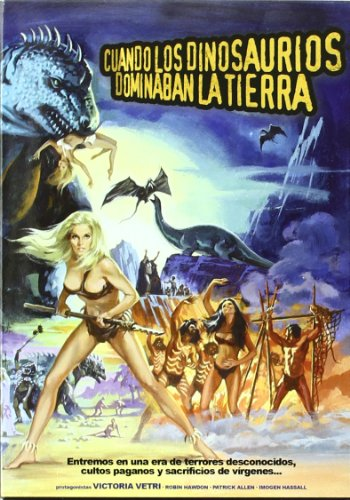When Dinosaurs Ruled the Earth [ NON-USA FORMAT, PAL, Reg.0 Import - Spain ]