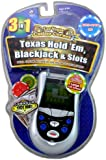 Las Vegas Casino Texas Hold Em 3 In 1 Handheld Game - Jeux électroniques