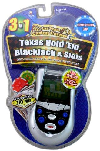 Las Vegas Casino Texas Hold Em 3 In 1 Handheld Game - Videospiel (Englische Version)
