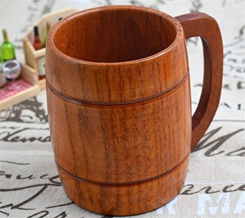 Classic Style Natural Wood Cup Wooden Drinking