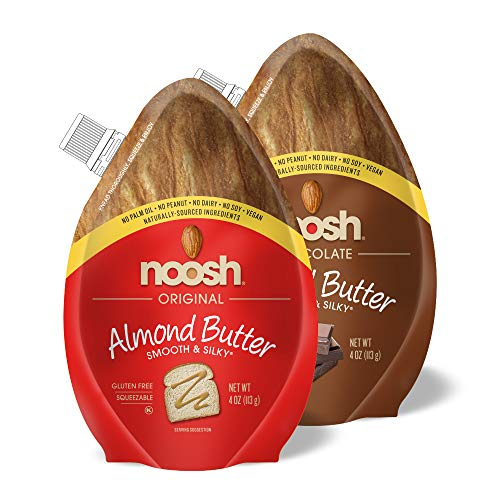 NOOSH Almond Butter (Original & Chocolate, Combo Pack)