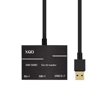 iBàste Lector de Tarjetas USB 3.0/2.0 XQD Leer en Alta ...