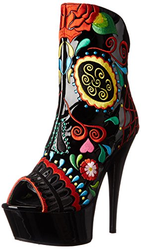 Ellie Shoes Women's 609-AMIENS, Black, 10 B US ()
