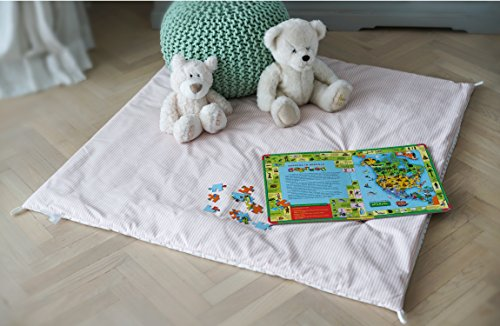 Cozy Culture Teepee Tent Play Mat Kids Floor Mat For