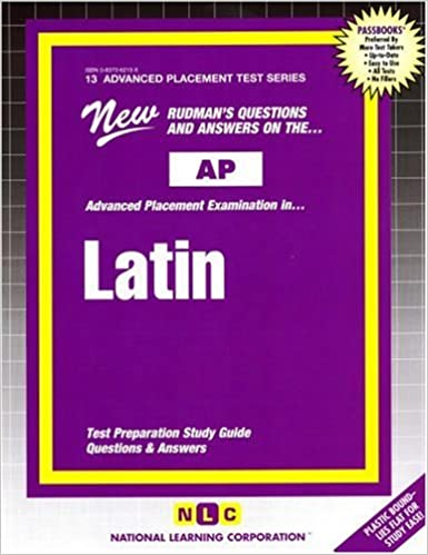 Latin vergil advanced placement test series passbooks latin vergil advanced placement test series passbooks advanced placement test series ap jack rudman 9780837362137 amazon books fandeluxe Image collections