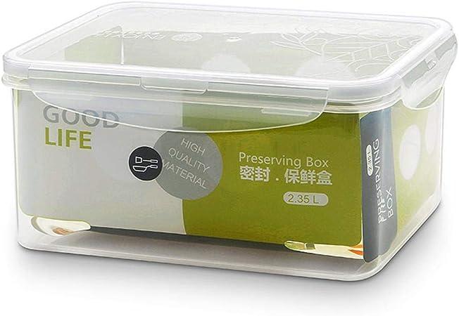 SGHTYJ Fiambrera Lunch Box Caja de almacenamiento de plástico grande 2350ml: Amazon.es: Hogar