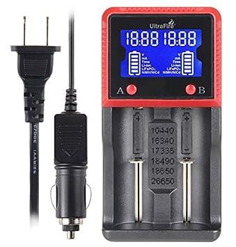 Cargador de batería universal UltraFire H2 portátil de viaje ...