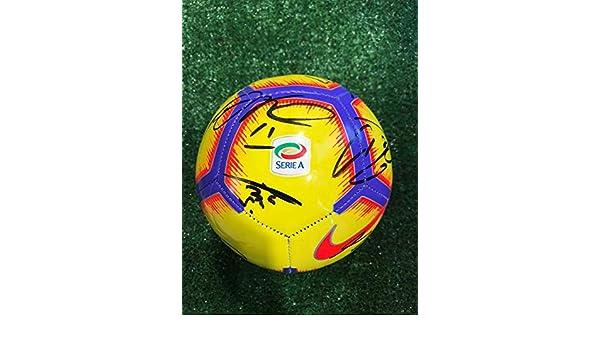JUVE - Balón Mini de la Serie A con autógrafo del F.C. Juventus ...