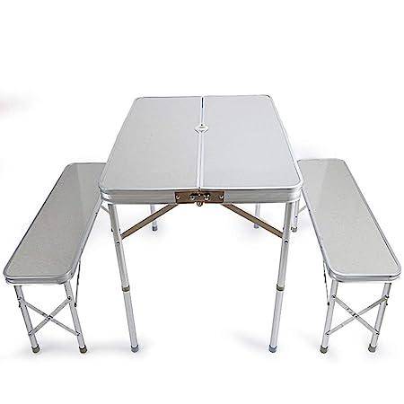 Mesa Plegable al Aire Libre Mesa y sillas Juego de Mesa y Silla ...