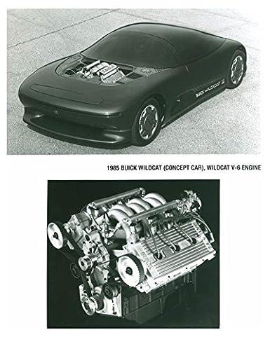 Amazon Com 1985 Buick Wildcat Concept Car V6 Engine Automobile