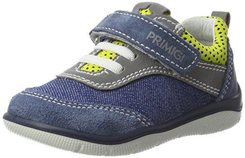 Primigi Pki 7525, Botines de Senderismo para Bebés Azul (Azzur/denim/lim)