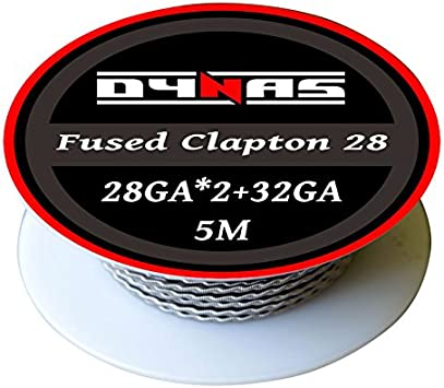 5m Dynas/® Fused Twisted Clapton Wire 5 Meter 26 Gauge Spool RBA RDA Kanthal A1