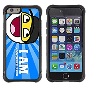 Hybrid Anti-Shock Defend Case for Apple iPhone 5C Inch / Smiley Sign