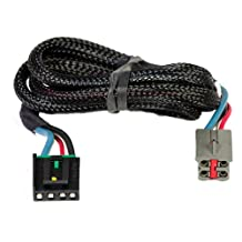 Husky 31859 Flat Connector Custom Wiring Harness for Brake Controller