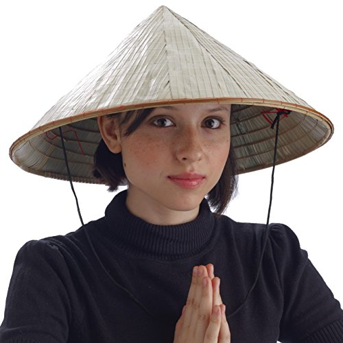 Chinese Bamboo Coolie Hat -