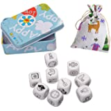 MUZOCT Story Dice Cubes - A Happy Trip by Imagination Generation