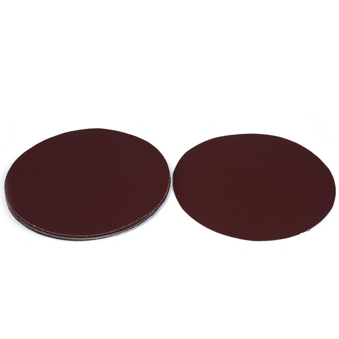 Portal Cool 8-inch Dia Abrasive Sanding Sandpaper Sheet Disc 320 Grit 10pcs Wide Spread SM-TRADICO-XU-HI-013292