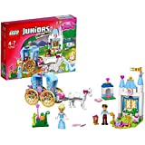 Lego 10729 Juniors Cinderellas Märchenkutsche, Spielzeug für vier Jährige