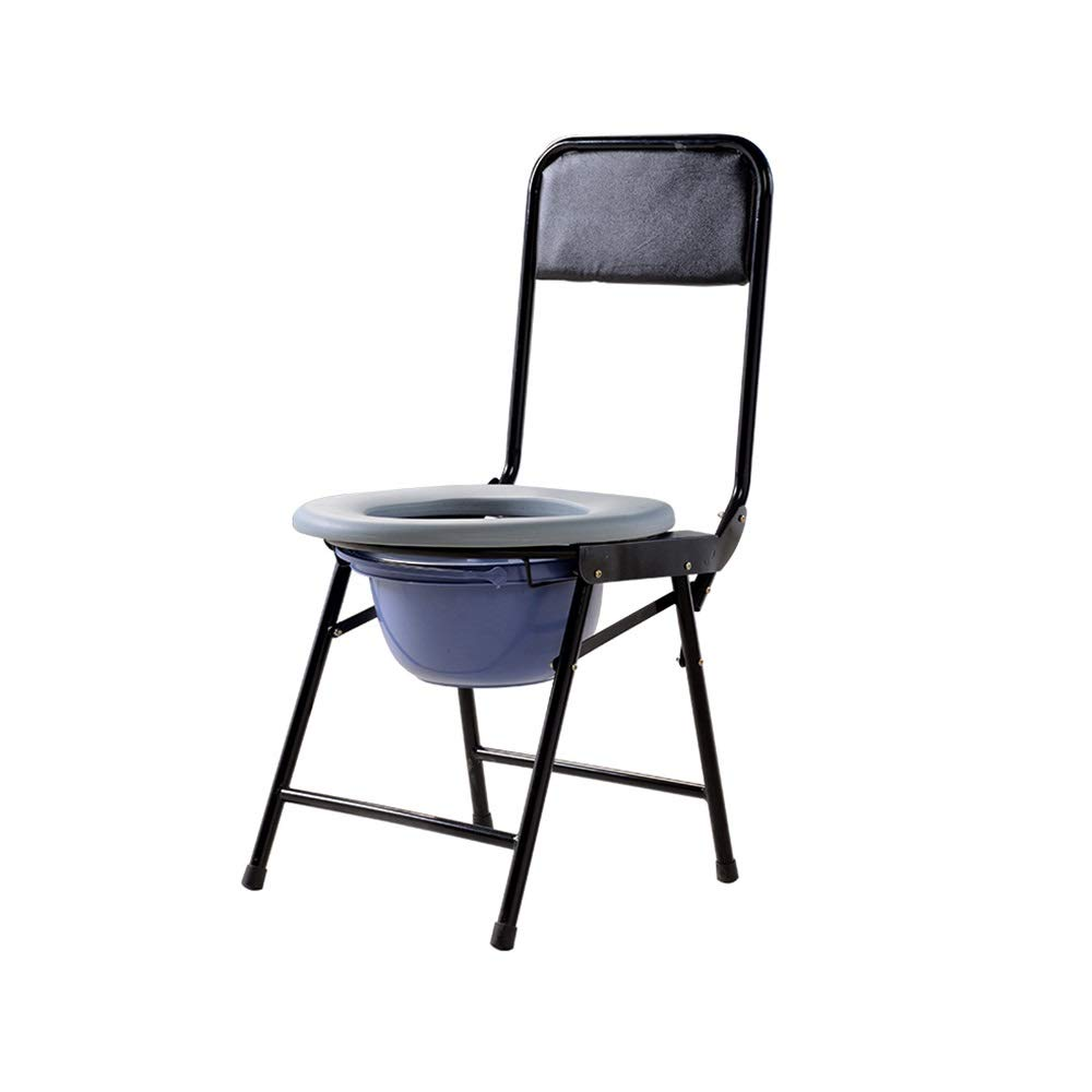 DUXX 便座、折りたたみ滑り止め椅子、便座、シンプル便座、トイレの便座、トイレ トイレチェア (色 : A)  A B07PM4L5HF